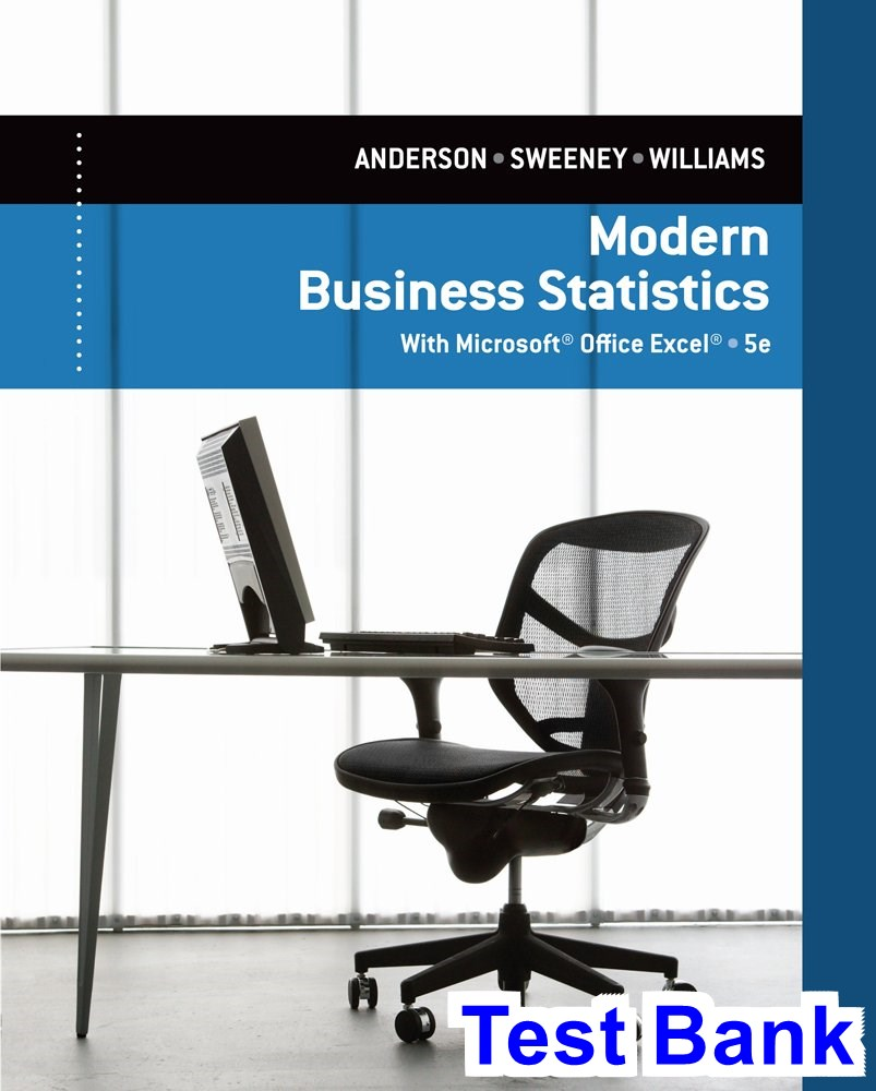 essentials of modern business statistics 5th edition solutions manual pdf