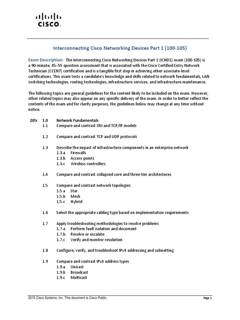 100-105 icnd1 interconnecting cisco networking devices part 1 icnd1 manuals