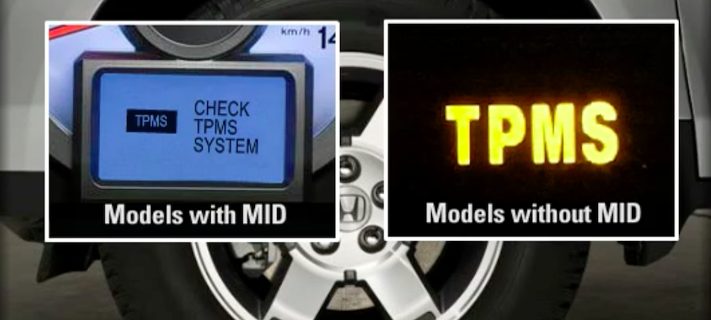 how to manually reset the tpms on 2009 honda crv