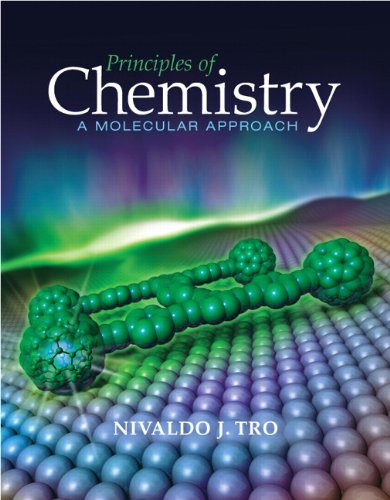 selected solutions manual for chemistry a molecular approach 3rd edition