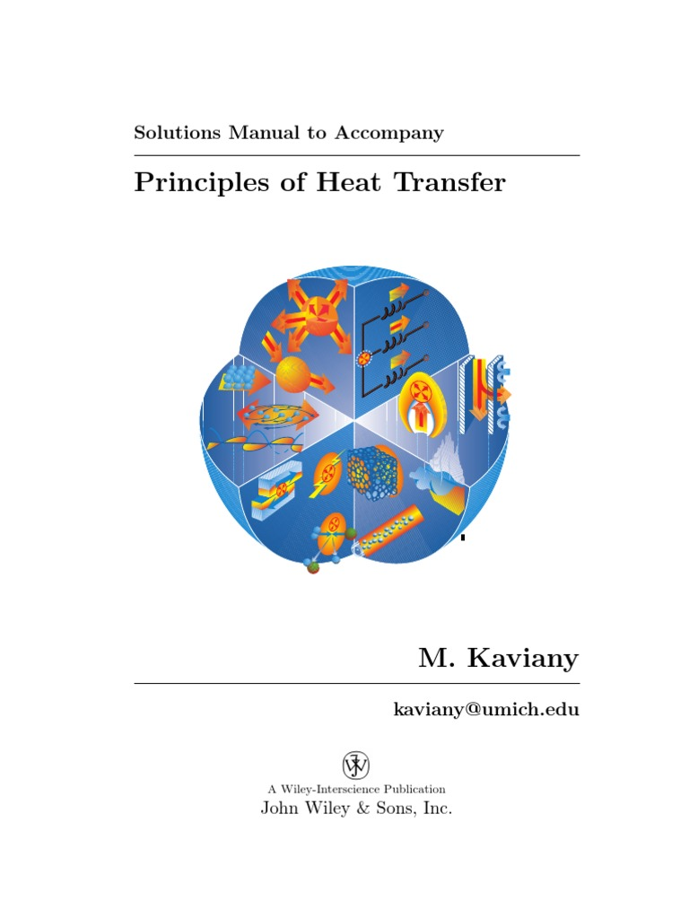 heat transfer wiley solution manual