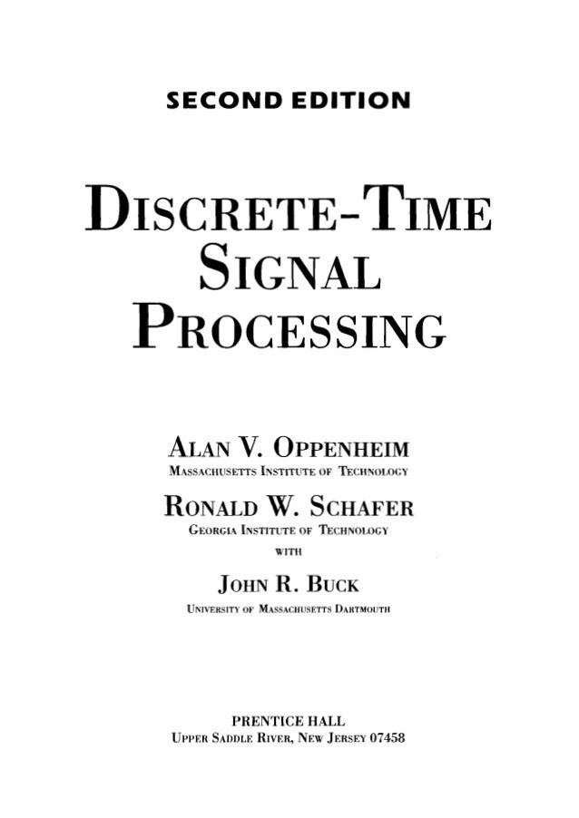 discrete time signal processing 3rd solution manual