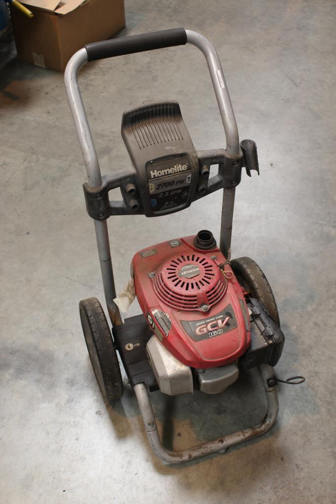 manual for honda gvc 160 pressure washer