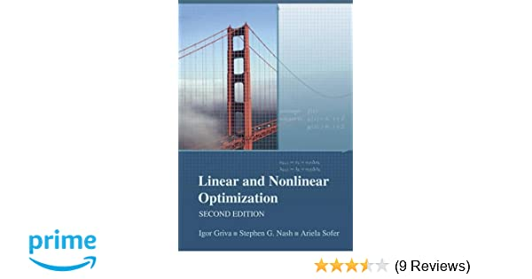linear and nonlinear optimization solution manual griva