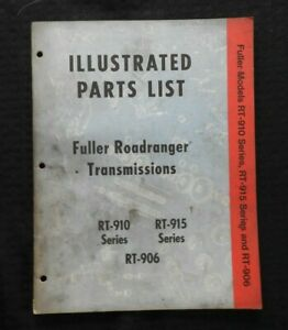 eaton roadranger transmission parts manual