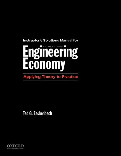 engineering economy applying theory to practice solution manual pdf