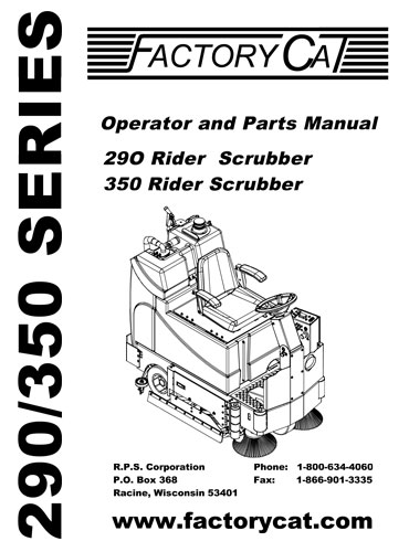 factory cat magnum 30d parts manual