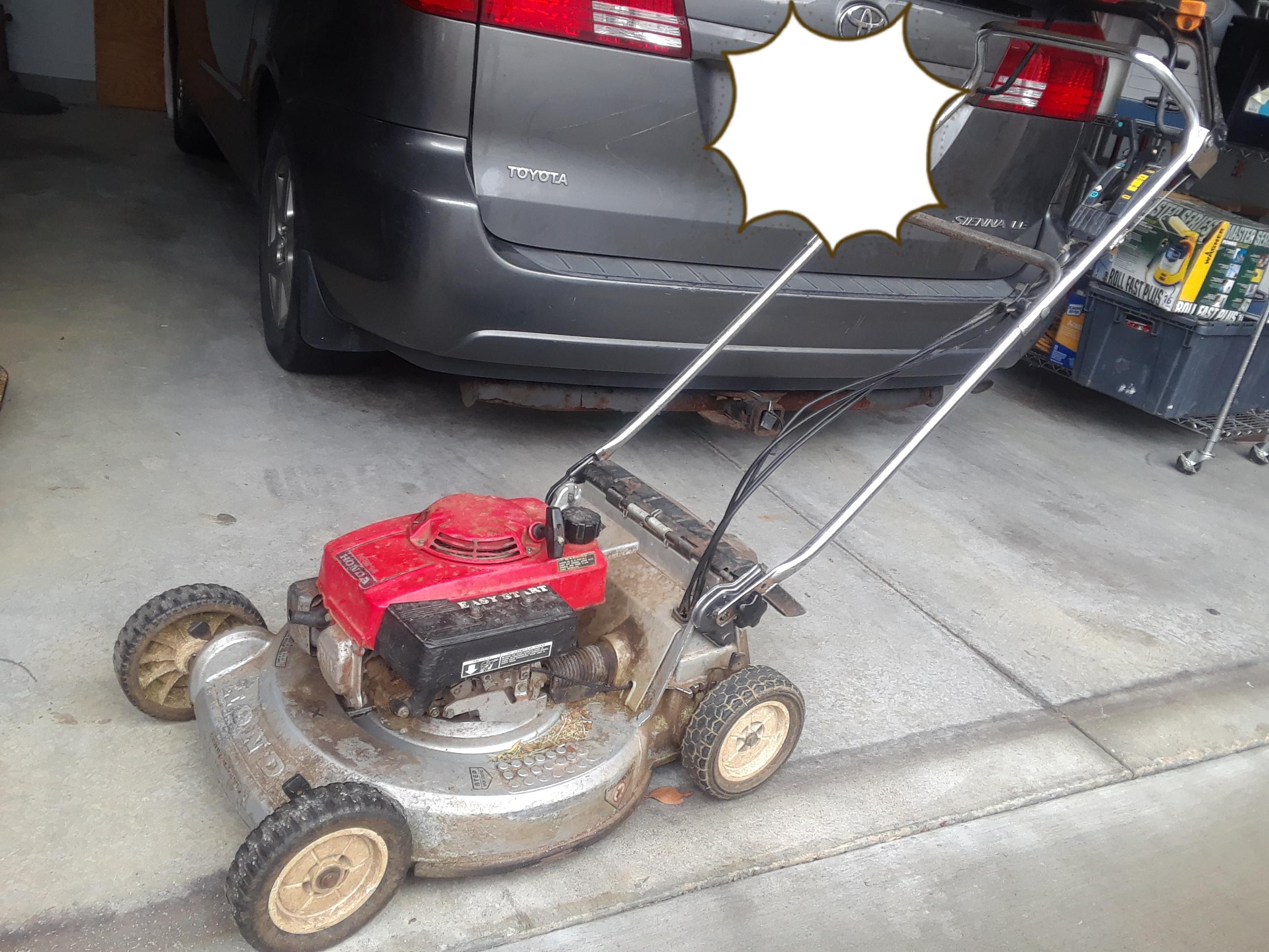 honda hr214 lawn mower repair manual